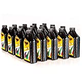 Lubrificanti Viskoil VISK2TSINT20X1 20x1 litros Aceite 100% sintético para Mezcla para Motores de 2 Tiempos