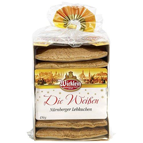 """Wicklein \""""Die Weißen\"""" Nürnberger Lebkuchen 450g"""