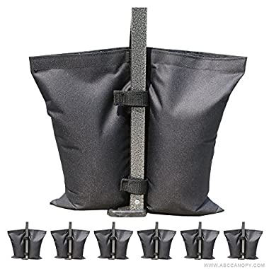 ABCCANOPY Canopy Weight Bags, Leg Weights for Pop up Canopy Weighted Feet Bag Sand Bag 6pcs-pack