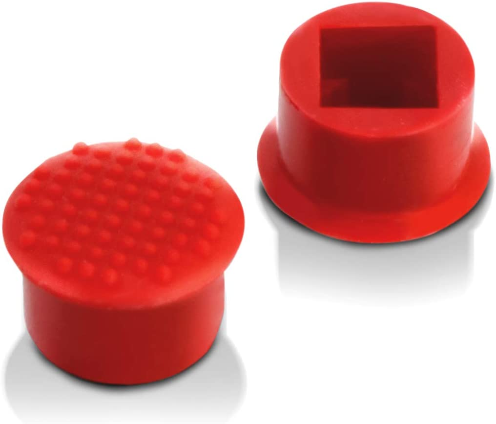egglobe Low Profile Trackpoint Keyboard Mouse Cap Soft Dome Compatible for Lenovo Thinkpad Laptop Pointer (2PCS)