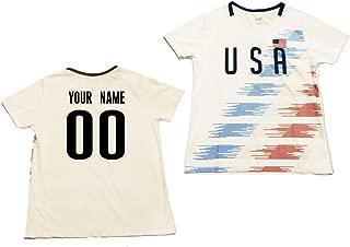 Custom Women's USA Soccer Jersey
