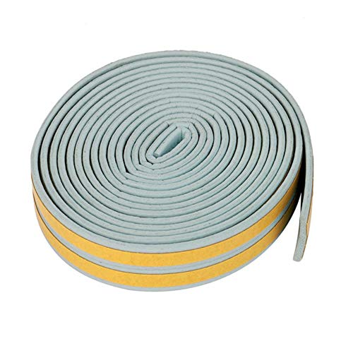 5M D/E/P/I Type Foam Weather Draft Excluder Zelfklevend Window Door Seal Strip Window Accessories Dusting Sealing Tape, J, Verenigde Staten