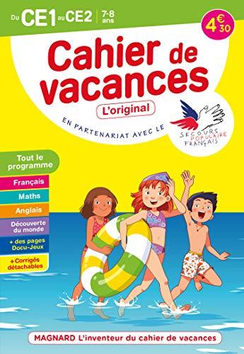 Cahier de vacances 2021, du CE1 vers le CE2 7-8 ans: Magnard, l'inventeur du cahier de vacances (2021)