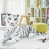 WNSS9 Múltiples tamaños Grandes de Siberia Gigante de Bengala Tigre Salvaje Peluches Realista Relleno Animal del Leopardo de Almohada rellena Felpa Suave Peluche Animal muñeca Figura, Mejores Regalos