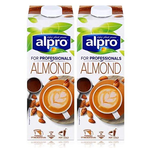 Alpro for professionals Almond 1L - Mandeldrink angereichert mit Calcium (2er Pack)