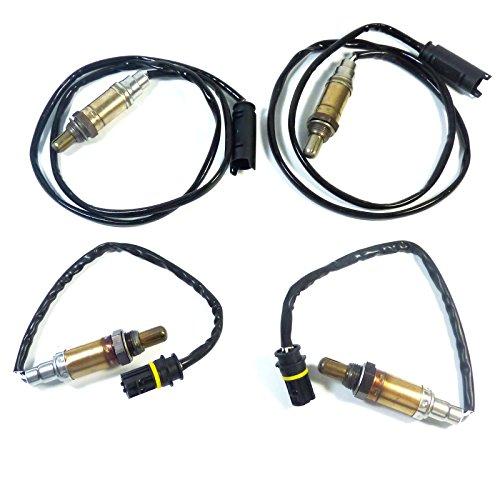 Lot de 4 capteurs d'oxygène O2 en amont et en aval 11781433940 pour 323i 330i 525i 530i X3 325xi X5 Z4 325i 323Ci Z3