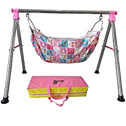 Multipro Indian Style Ghodiyu Born Baby Sleep Swing Cradle
