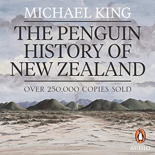 『The Penguin History of New Zealand』のカバーアート