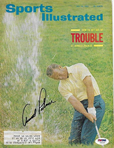 Cheap Arnold Palmer Autographed Golf Sports Illustrated 7/2/65 PSA/DNA Authenticated - Autographed G...