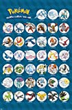 Trends International Pokemon Legendary Wall Poster 22.375' x 34'