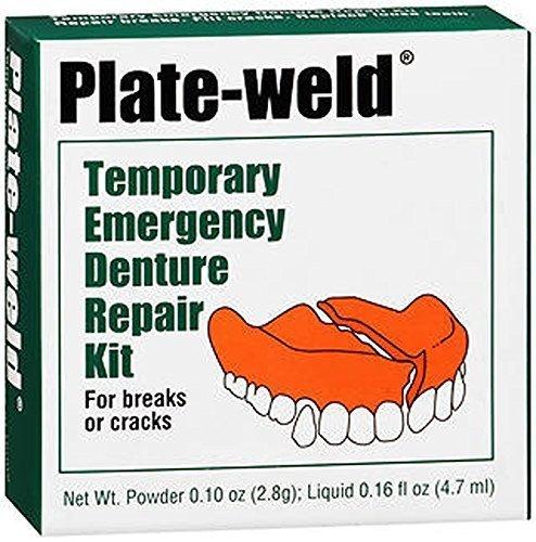 Plate Weld 入荷予定 Temporary Emergency Denture Repair 配送員設置送料無料 by Ea Kit - Plat 1