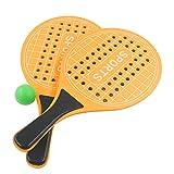 Nimokong Racchetta da Spiaggia, Racchette da Beach Tennis, Gioco da Spiaggia per Bambini e Adulti,...