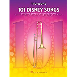 101 Disney Songs -For Trombone-: Noten, Sammelband für Posaune
