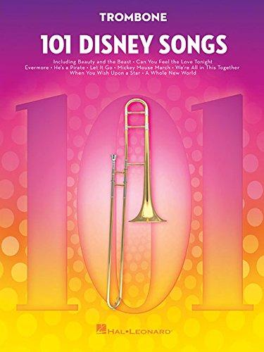 101 Disney Songs -For Trombone-: Noten, Sammelband für Posaune