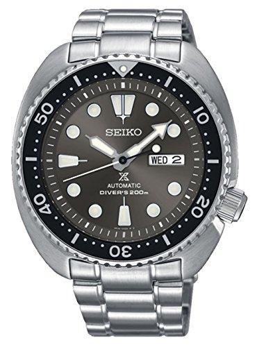 Seiko prospex Reloj para Hombre Analógico de Automático con Brazalete de Acero Inoxidable SRPC23K1