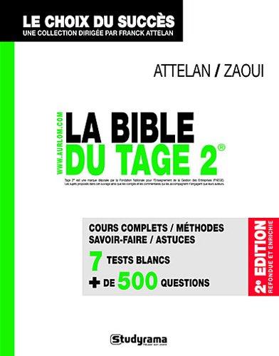 La Bible du Tage 2 2e édition