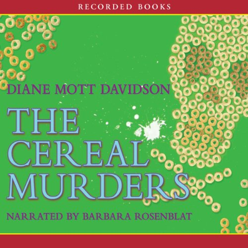 The Cereal Murders audiobook cover art