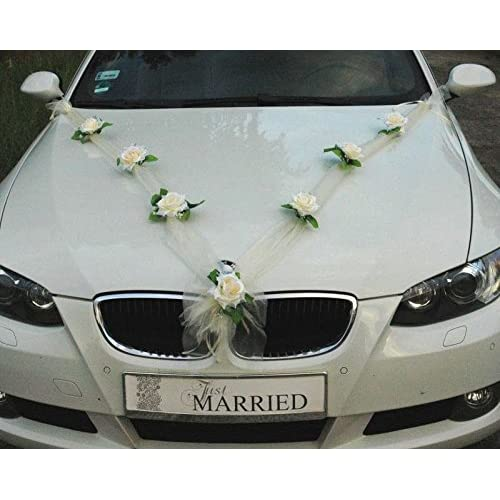 Wedding Decorations For Cars Amazon
