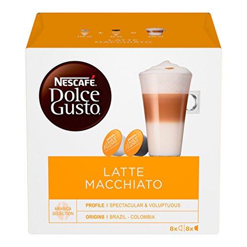 Nescafé Dolce Gusto Latte Macchiato, 6 Confezioni da 16 Capsule, 96 Capsule