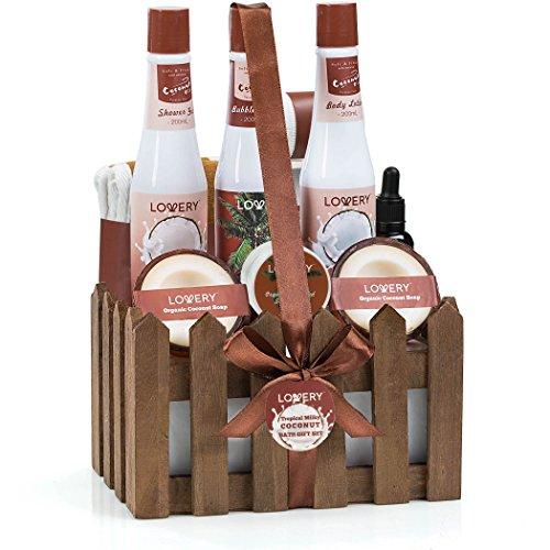 Organic Spa Gift Basket Coconut Scent
