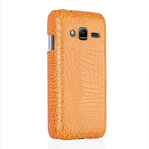 Manyip Samsung Galaxy J1 Mini/J1 Mini Prime Funda Case para teléfono móvil Rugged Shield 360°Protege tu teléfono Concha de patrón de cocodrilo Case Funda para Samsung Galaxy J1 Mini/J1 Mini Prime