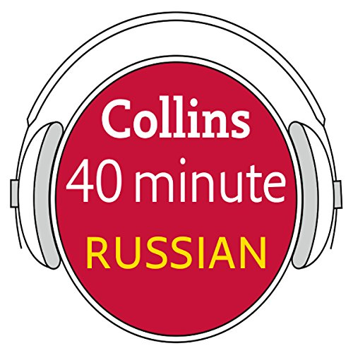 Russian in 40 Minutes audiobook cover art