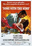 Gone with The Wind,Clark Gable Movi Poster,Plakat