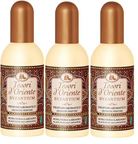 3x tesori d´Oriente Byzantium Aromatic Parfum Eau de Toilette 100 ml aus italien