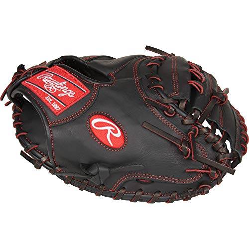 """Rawlings R9YPTCM32B-3/0 Baseball Youth Pro Taper 32"""" CM, Right Hand Throw, Gloves"""