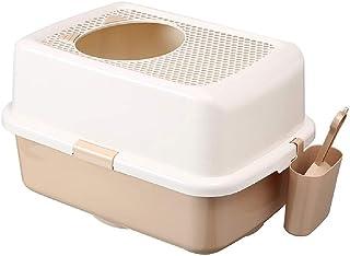High quality Cat Litter Box Top Entry Grid Cat Toilet Large Cat Sand Basin Anti-splash Cat Supplies Automatic Deodorant Li...