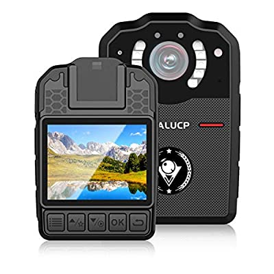 MALUCP Body Camera 1080P HD Police Body Cam,128G Memory,Portable Body Camera,Audio & Pictures,Infrared Night Vision,Police Panic Mode,3000 mAh Battery,15HR Battery Life,IP67 Waterproof,2M Shockproof from MALUCP
