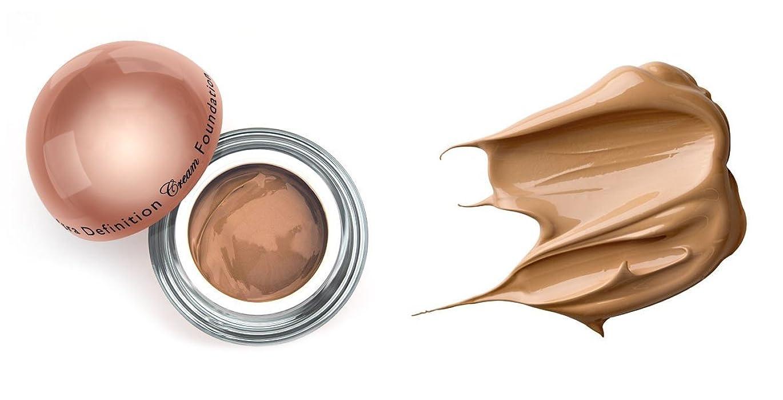 突然アームストロング持っているLA Splash (無料なめらかな顔のシートマスク付き)LA-スプラッシュウルトラ定義されたクリームファンデーション 1オンス キャラメル/ 1オンス(20210)