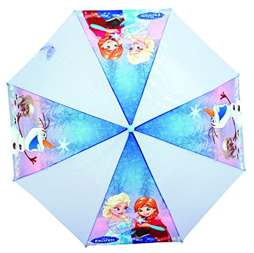 Chanos Chanos Frozen Automatic Metal Polyester Taslon Folding Umbrella, 46 cm, Light...