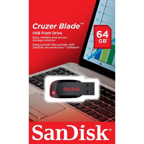 SanDisk 64GB USB Memory Stick Flash Back up para Sony PS3, Xbox...