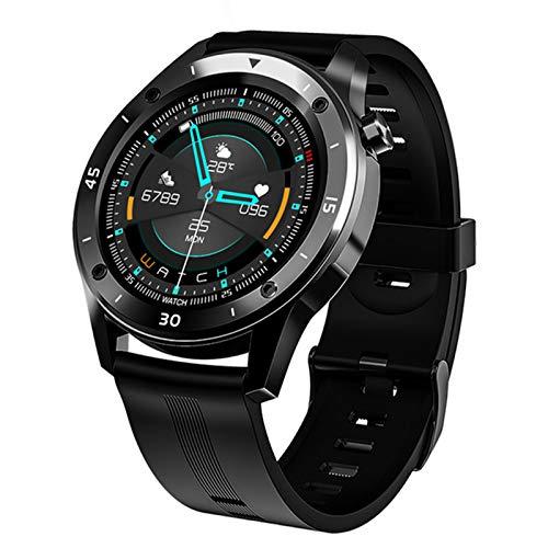 LDJ Smart Watch F22S Deportes Bluetooth Smart Watch Smart Fitness Tracker Pulsera Presión Arterial Monitoreo De Ritmo Cardíaco Smartwatch para Android iOS,C