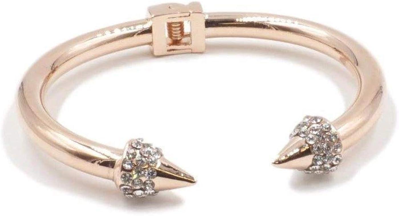 Kinsley Armelle Spike Collection - Rose Gold Bling Bracelet