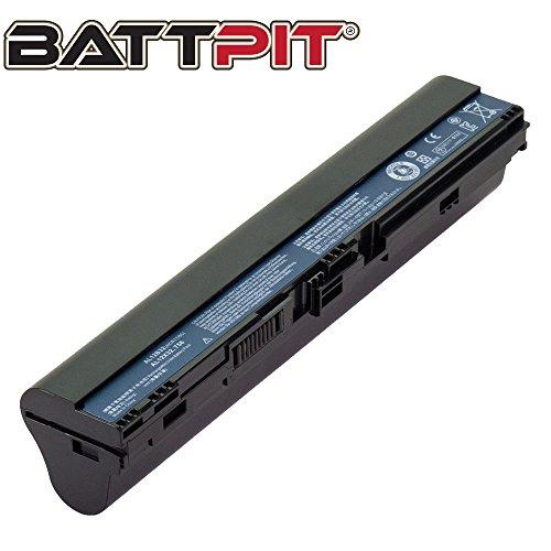 BattPit Laptop Battery for Acer AL12A31 AL12B31 AL12B32 AL12B72 AL12X32 Aspire One 725 756 Aspire V5-121 V5-123 V5-131 V5-171 Chromebook C710, TravelMate B113-E, B113-M [4-Cell/2200mAh/33Wh]