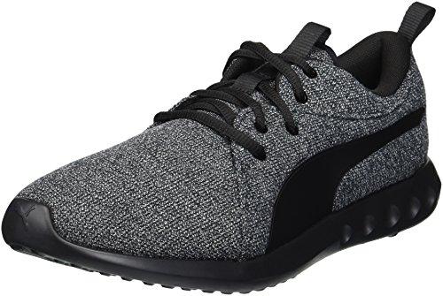 PUMA Herren Carson 2 Knit Sneaker, schwarz, 44 EU