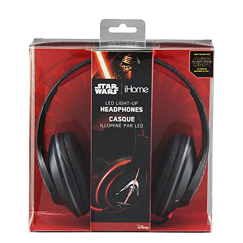 Star Wars Episode 7 Over-The-Ear Headphones Light Up Headphones (Li-M52E7.FX)