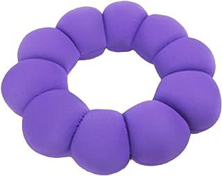 Nunubee Multifuncional Felpa Hermosa Nalgas Almohada Multifuncional Almohada Almohada En Forma De Flor Donut Almohada Púrpura
