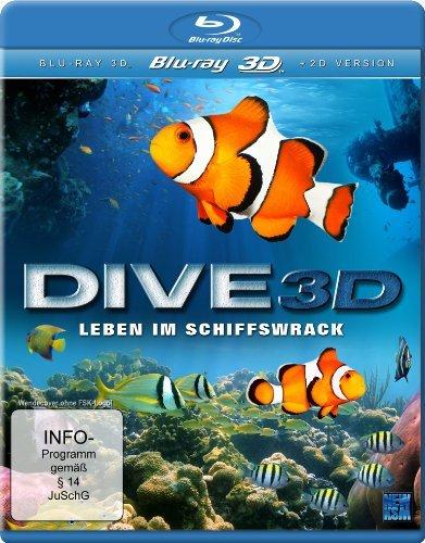 Dive 3D - Leben im Schiffswrack / Dive 3D: Shipwreck Life ( ) (3D & 2D) (Blu-Ray)