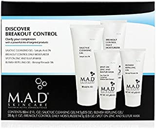 M.A.D Skincare Discover Breakout Control Acne Travel System Set