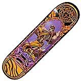 Darkstar 8.125 Zoll Cameo Celtic Neon Deck Skateboard inkl.