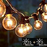 🌟【Impermeabile & Decorazione Perfetta】🌟Impermeabile della luci giardino esterno è IP44 per uso esterno resiste ad anni di clima stagionale, resistente all'estate e all'inverno. Aadatta per interni, specialmente per uso esterno. Decorare idealmente gi...