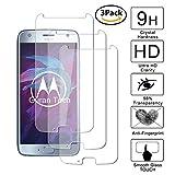 Guran [3 Pezzi] Pellicola Protettiva per Motorola Moto X4 Smartphone Ultra Sottile Screen Protector in Vetro Temperato Film Ultra Resistente