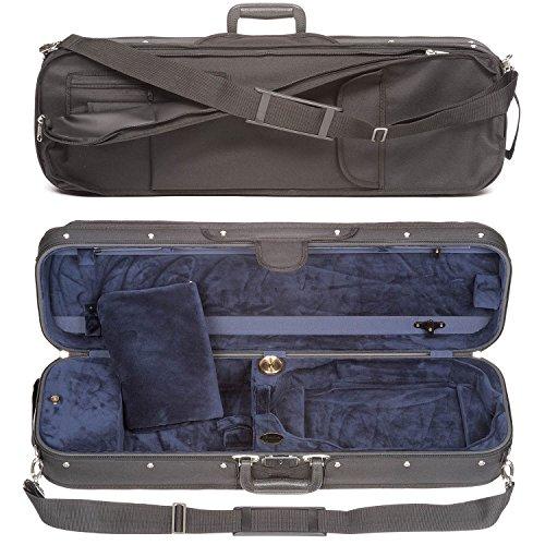 Bobelock 1002S Oblong 4/4 Violin Case with Blue Velour Interior