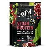 Okami Bio   Proteina De Guisante Con Granada Bio   Proteína Vegana   Aporta Aminoácidos Esenciales   500gr.