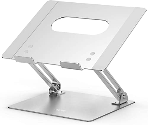 Besign LS10 Aluminum Laptop Stand, Ergonomic Adjustable Notebook Stand, Riser Holder Computer Stand Compatible with M...