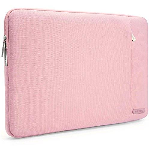 HSEOK 15,6 Zoll Laptop Hülle Tasche,Stoßfeste Wasserdicht PC Sleeve kompatibel mit die meisten 15,6 Zoll Laptops Dell/HP/Lenovo/Acer/Ausu, Rosa
