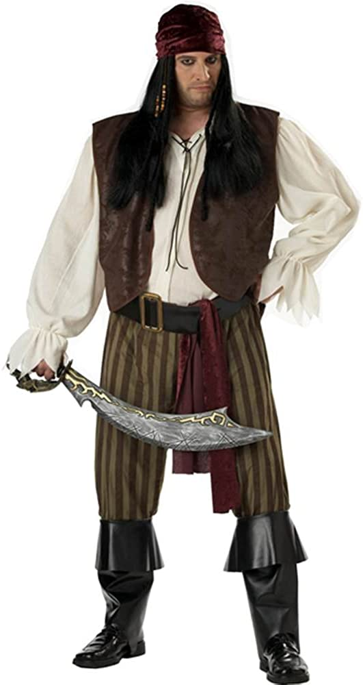 Plus Attention brand Size Rogue Costume Pirate Gorgeous